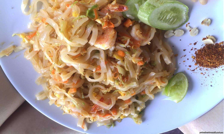 Лапша по тайски рецепт